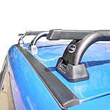 Багажник на крышу Renault Sandero 2008- на штатные места, фото 4
