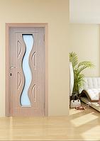Дверь межкомнатная эконом ТМ Феникс серия Монолит модель Волна