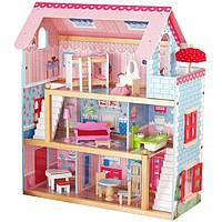 Большой игровой кукольный домик AVKO Вилла Савона + 2 куклы