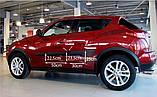 Молдинги на двері для Nissan Juke F15 2010-2019, фото 3
