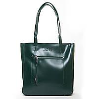 Женская кожаная сумка 8773  green.Купить сумки оптом и в розницу по выгодной цене в Украине, фото 1