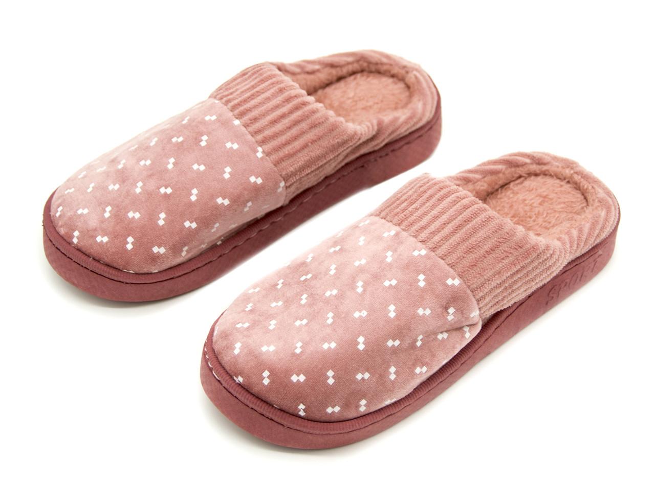 Комнатные тапочки Для девочек/женщин Темно-розовый