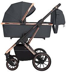 Детская коляска универсальная 3 в 1 Carrello Aurora CRL-6502 Iron Grey (Каррелло)