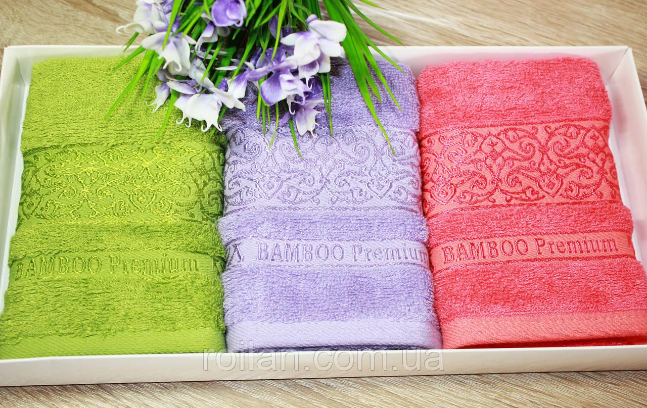 Набор турецких кухонных полотенец Bamboo Ажур