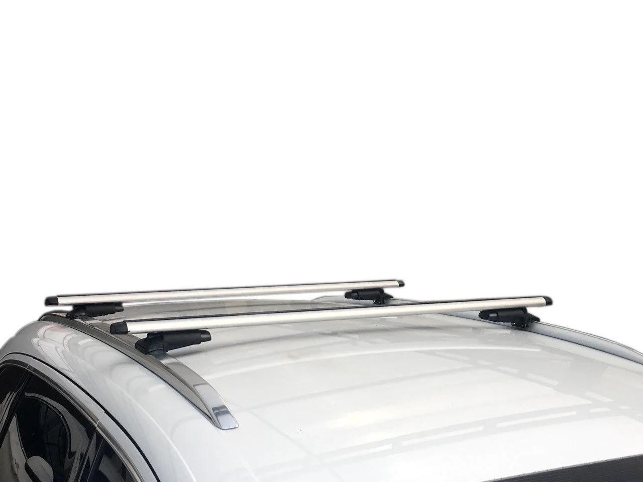 Багажник Audi Q7 2005-2015 на интегрированные рейлинги