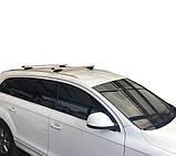Багажник Audi Q7 2005-2015 на интегрированные рейлинги, фото 5