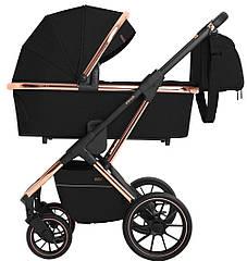 Детская коляска универсальная 3 в 1 Carrello Aurora CRL-6502 Space Black (Каррелло)