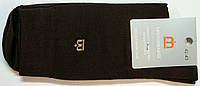 Мужские высокие носки коричневого цвета