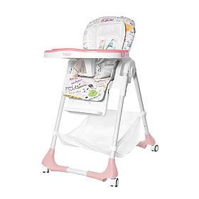 Стільчик для годування BABY TILLY Bistro T-641/2 Рожевий