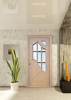 Дверь межкомнатная эконом ТМ Феникс серия Монолит модель Гранд