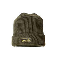 Вязанная шапка NORFIN CLASSIC WARM Теплая зимняя шапка на флисе