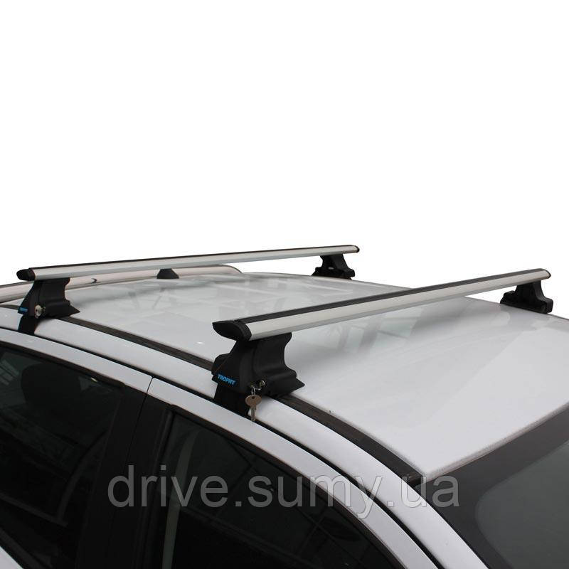 Багажник Mitsubishi Galant 2003-2012 на гладкую крышу