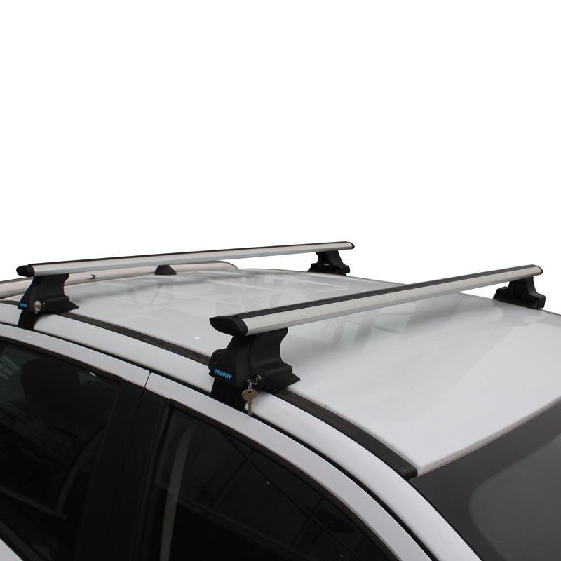 Багажник Seat Ibiza 2010-2017 на гладкую крышу