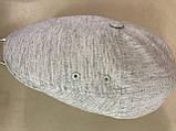 Мужская кепка лён пятиклинка 56-57 59-60 цвет молочный, фото 4