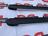 Боковые пороги Mercedes GLE/ML klass W166 Maya V1 (2 шт., алюминий), фото 7