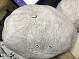 Мужская кепка лён пятиклинка 56-57 59-60 цвет молочный, фото 2