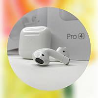 Беспроводные bluetooth наушники New Airpods Pro 4 mini White