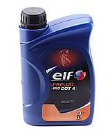 Тормозная жидкость ELF FRELUB 650 (1л) DOT 4