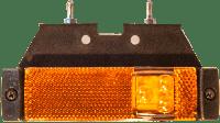 Фонарь габаритный LED, с кронштейном , желтый