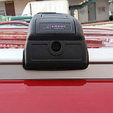 Багажник на крышу Seat Leon 2013- хром на интегрированные рейлинги, фото 5