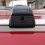 Багажник Seat Leon 2013- хром на интегрированные рейлинги, фото 5