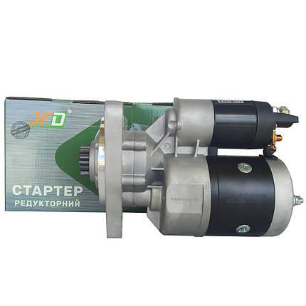 Стартер редукторний МТЗ Т40 Т25 JFD 12В 2,7 кВт арт. 1227001 (аналог Jubana 123708001), фото 2