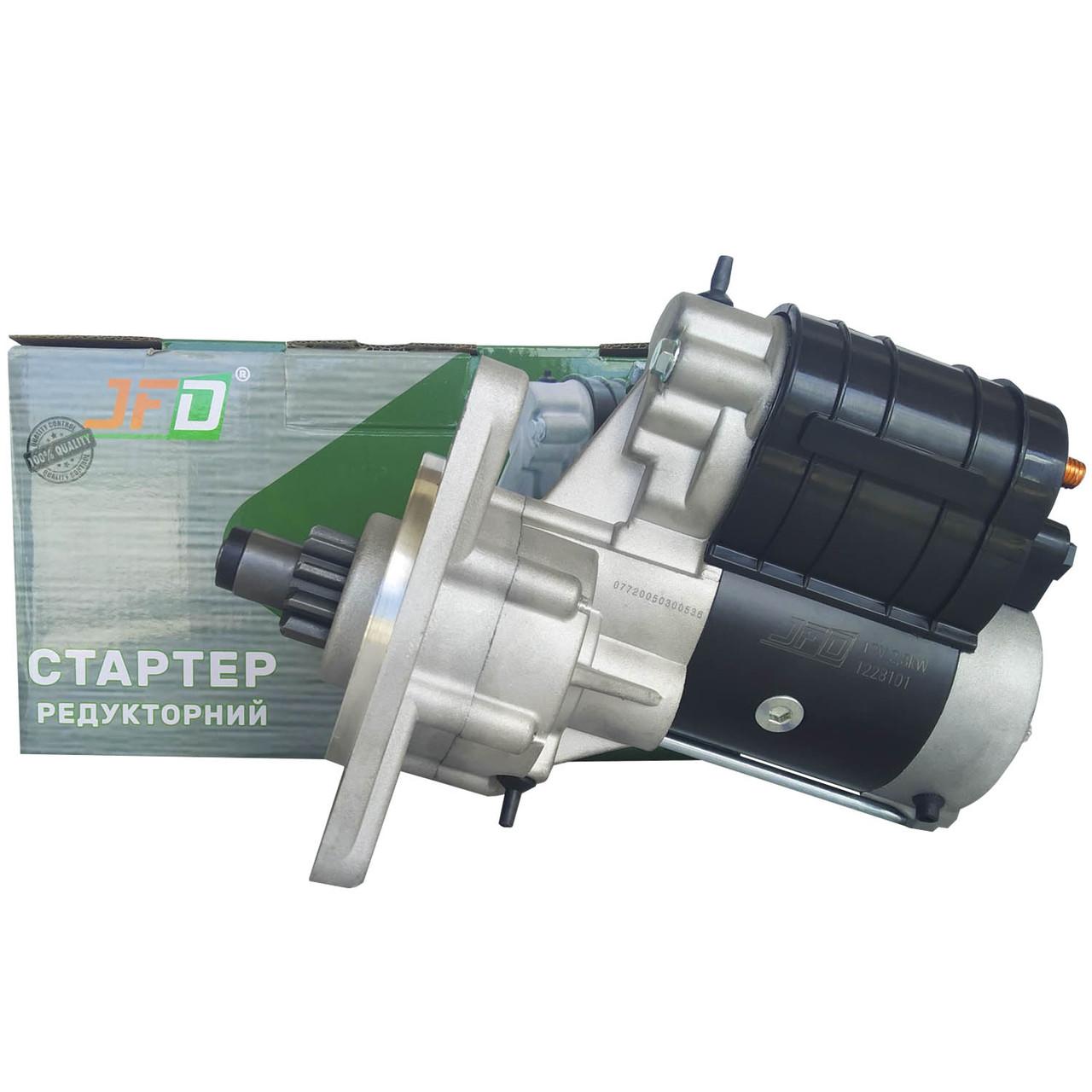 Стартер редукторний МТЗ Т40 Т25 JFD 12В 2,8 кВт арт. 1228101 (аналог Jubana 123708101)