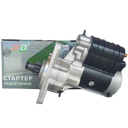 Стартер редукторний МТЗ Т40 Т25 JFD 12В 2,8 кВт арт. 1228101 (аналог Jubana 123708101), фото 2