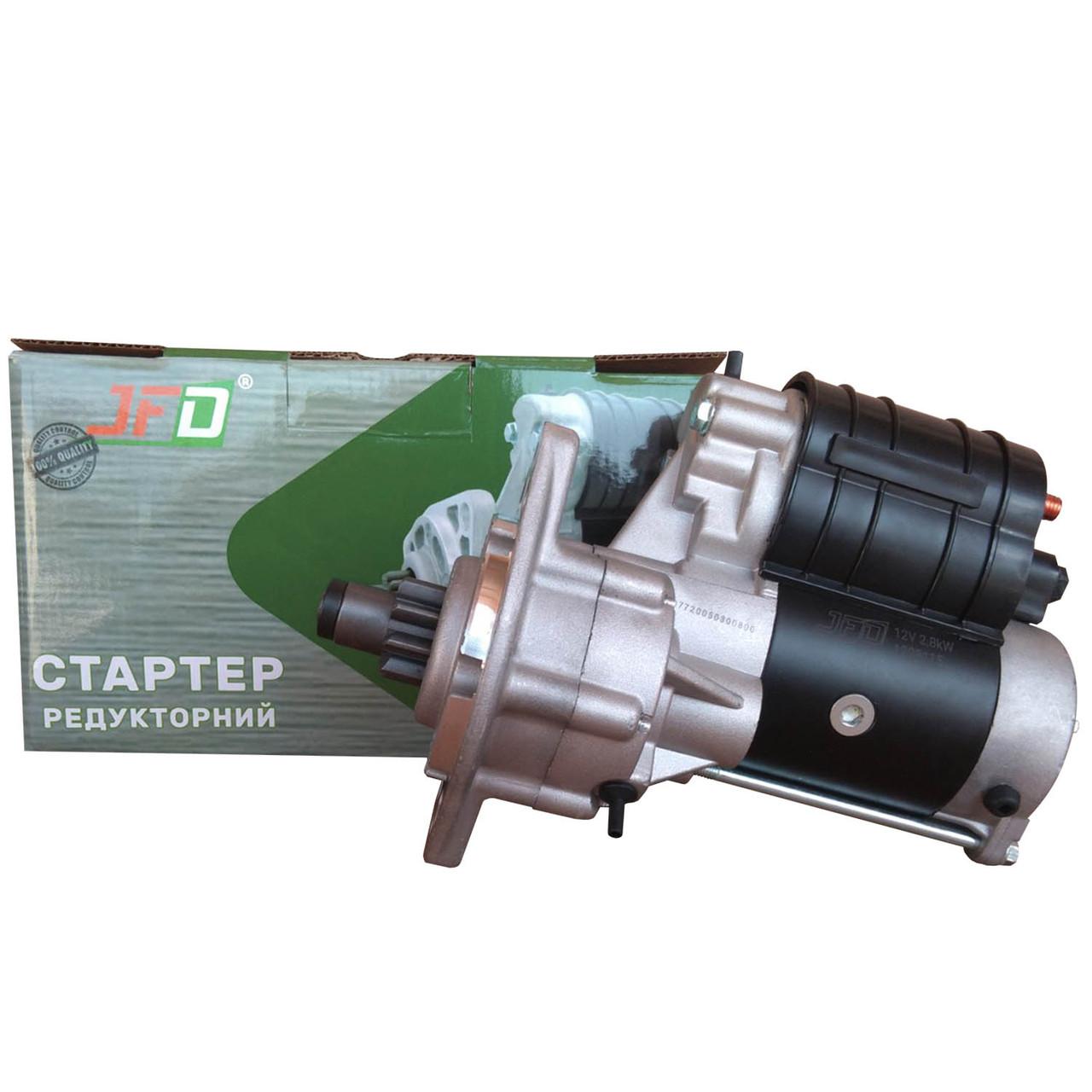 Стартер редукторний DEUTZ JFD 12В 2,8 кВт арт. 1228115 (аналог Jubana 123708115)