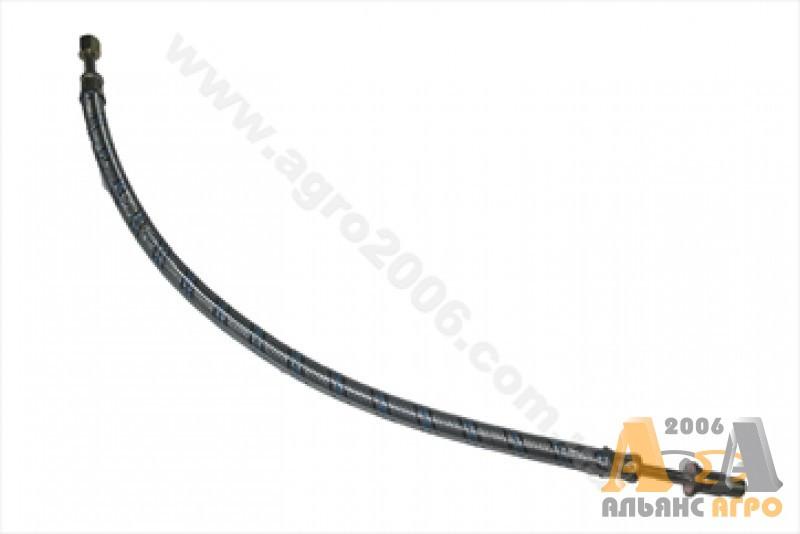 Шланг манометру масла в металевій обплітці L-530 мм МТЗ 70-3801180-1 (JFD)