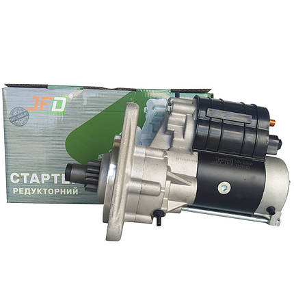 Стартер редукторний ЮМЗ JFD 12В 2,8 кВт арт. 1228102 (аналог Jubana 123708102), фото 2
