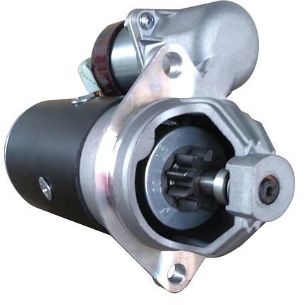 Стартер редукторний ПД JFD 12В 0.7 кВт арт. 1207021 (аналог Jubana 123708021), фото 2