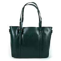 Женская кожаная сумка  1535 green.Купить сумки оптом и в розницу по выгодной цене в Украине, фото 1