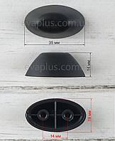 Опора для валізи ВП 127 чорна, фото 1