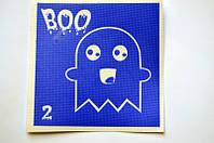 Трафарет для Біо Тату 6*6 2 Хелловін(одноразовий)