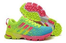 Кроссовки женские Adidas Adizero Knit 2.0 / NR-ADW-100 (Реплика)