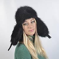 Женская шапка из искусственного меха Бобра