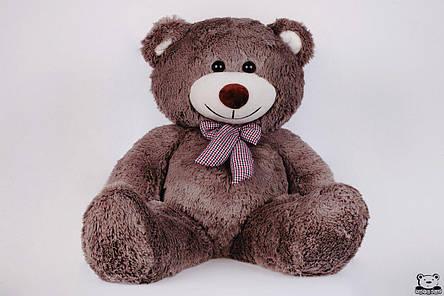 Ведмедик плюшевий Yarokuz Джон 110 см Капучіно, фото 2