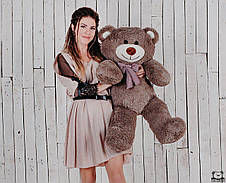 Ведмедик плюшевий Yarokuz Джон 110 см Капучіно, фото 3
