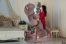 Великий плюшевий ведмедик Yarokuz Річард 200 см Капучіно, фото 2
