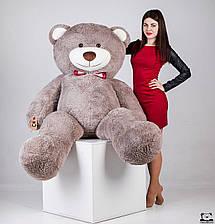 Великий плюшевий ведмедик Yarokuz Річард 200 см Капучіно, фото 3