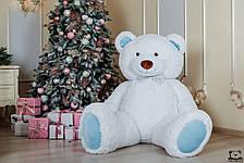 Великий плюшевий ведмедик Yarokuz Річард 200 см Білий з блакитним, фото 3