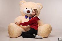 Величезний м'який ведмедик Yarokuz Вільям 250 см Персиковий, фото 3