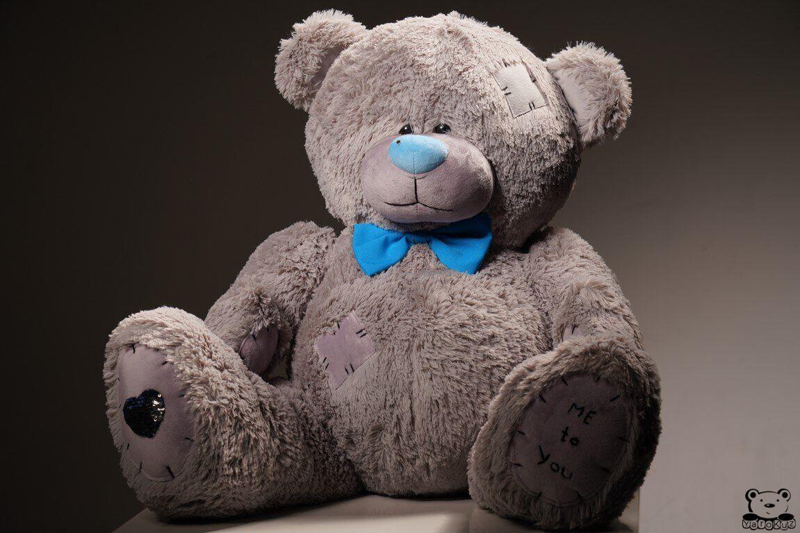 Ведмедик плюшевий Yarokuz Me To You 160 см Сірий