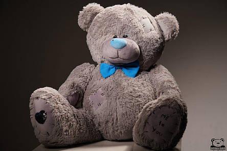 Ведмедик плюшевий Yarokuz Me To You 160 см Сірий, фото 2