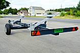 """Тележка для транспортировки жаток, одноосная модель VL-20 (TM """"Volland""""), фото 4"""