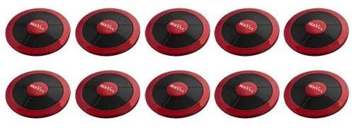 Фото: кнопки вызова официанта R-650 Мазерати - 10 штук - комплект системы вызова RECS №76