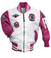 Дитячий бомбер Top Gun Kids Color Block MA-1 Bomber TGK1649 (Pink)