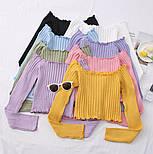 Жіноча кофточка/джемпер рубчик (в кольорах), фото 8