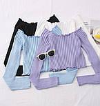 Жіноча кофточка/джемпер рубчик (в кольорах), фото 10